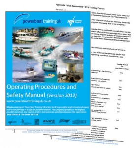 Powerboat_Training_UK_Ops_Procedures