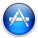 App store logo resized